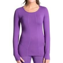 Terramar Hottotties® Cloud Nine CS 2.0 Base Layer Top - UPF 25+, Long Sleeve (For Women) in Purple Rain - Closeouts