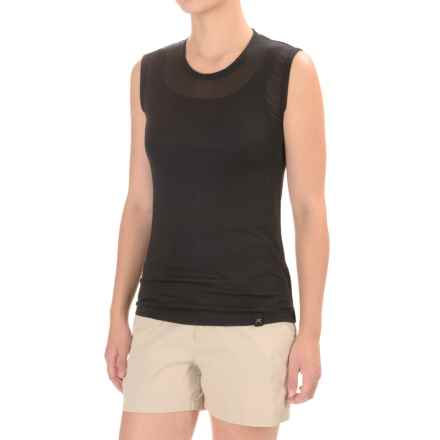 Terramar Hottotties® Thermasilk ClimaSense® Base Layer Tank Top (For Women) in Black - Closeouts