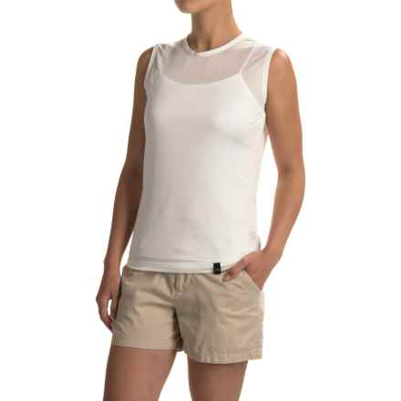 Terramar Hottotties® Thermasilk ClimaSense® Base Layer Tank Top (For Women) in Natural - Closeouts