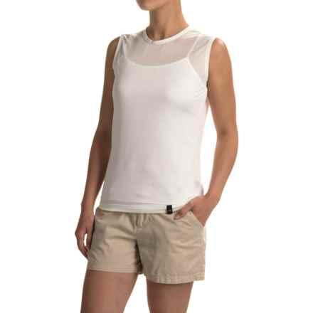 Terramar Hottotties® Thermasilk ClimaSense® Base Layer Tank Top (For Women) in Natural - Closeouts