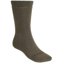 Terramar Lambswool Blend Socks - 3-Pack, Crew (For Men and Women) in Olive - Closeouts