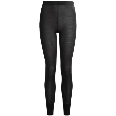 Terramar Long Underwear Bottoms - Silk, Lightweight (For Women) in Black