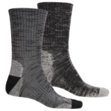 Terramar Merino Lite Hiker Socks - 2-Pack, Crew (For Men and Women)