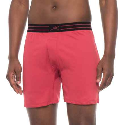 Terramar MicroCool Boxers (For Men) in Claret - Closeouts