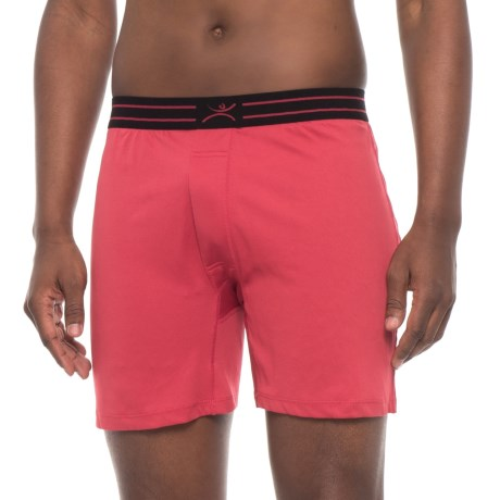 Terramar MicroCool Boxers (For Men) in Claret