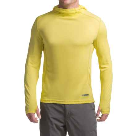 Terramar MicroCool® Hoodie - UPF 50+ (For Men) in Limelight - Closeouts
