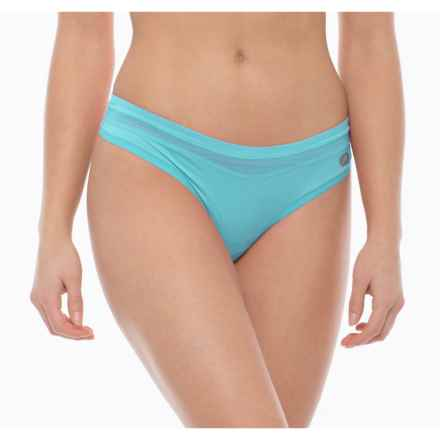 Terramar MicroCool® Panties - Thong (For Women) in Bluebird - Closeouts