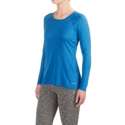 Terramar MicroCool® Shirt - UPF 50+, Long Sleeve (For Women) in Ocean Blue - Closeouts