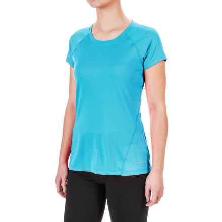 Terramar MicroCool® T-Shirt - UPF 50+, Scoop Neck, Short Sleeve (For Women) in Turquoise - Closeouts