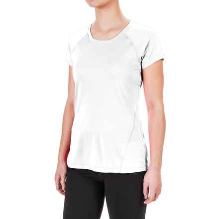 Terramar MicroCool® T-Shirt - UPF 50+, Scoop Neck, Short Sleeve (For Women) in White - Closeouts