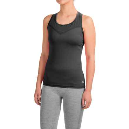 Terramar MicroCool® Tank Top - Racerback (For Women) in Black - Closeouts