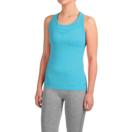 Terramar MicroCool® Tank Top - Racerback (For Women) in Bluebird - Closeouts