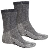 Terramar Midweight Hiking Socks - Merino Wool, Crew, 2-Pack (For Men)