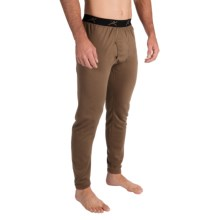 Terramar Military 3.0 Fleece Base Layer Bottoms (For Men) in Brown - Closeouts