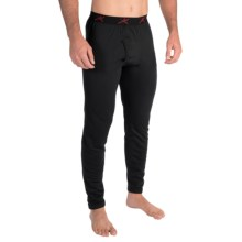 Terramar Military 3.0 Fleece Base Layer Bottoms (For Tall Men) in Black - Closeouts