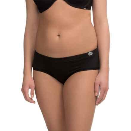 Terramar Natara ClimaSense® Panties - Hipster Briefs (For Women) in Black - Closeouts