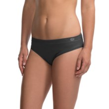 Terramar Natara High-Performance Panties - Bikini (For Women) in Black - Closeouts