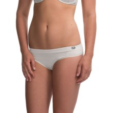 Terramar Natara High-Performance Panties - Bikini (For Women) in White - Closeouts