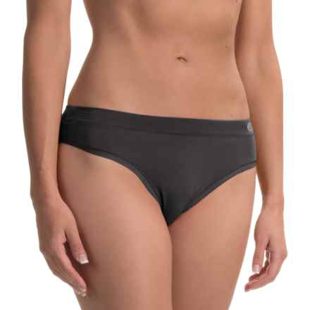 Terramar Natara Panties - Thong (For Women) in Black - Closeouts