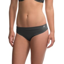 Terramar Natara Thong Panties (For Women) in Black - Closeouts