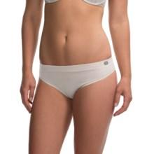 Terramar Natara Thong Panties (For Women) in White - Closeouts