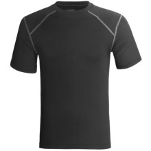 Terramar Pro-Jersey T-Shirt - UPF 25+, Short Sleeve (For Men) in Black - Closeouts
