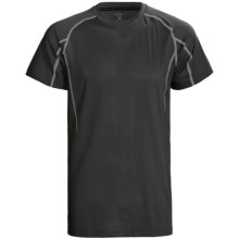 Terramar Pro-Mesh T-Shirt - UPF 25+, Short Sleeve (For Men) in Black - Closeouts
