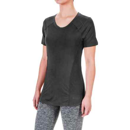 Terramar ReFlex® T-Shirt - UPF 25+, Scoop Neck, Short Sleeve (For Women) in Black - Closeouts
