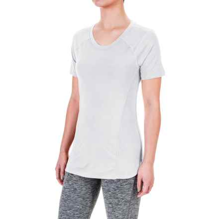 Terramar ReFlex® T-Shirt - UPF 25+, Scoop Neck, Short Sleeve (For Women) in White - Closeouts