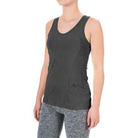 Terramar ReFlex Tank Top - Racerback, Compression Fit (For Women) in Black - Closeouts