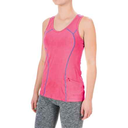 Terramar ReFlex Tank Top - Racerback, Compression Fit (For Women) in Geranium - Closeouts