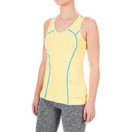 Terramar ReFlex Tank Top - Racerback, Compression Fit (For Women) in Limelight - Closeouts