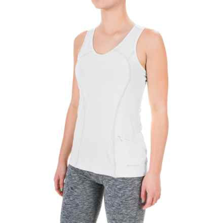 Terramar ReFlex Tank Top - Racerback, Compression Fit (For Women) in White - Closeouts