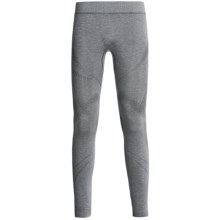 Terramar SmartSilk Tight Base Layer Bottoms - Lightweight, UPF 25+, Dri-Release® (For Men) in Heather Grey - Closeouts