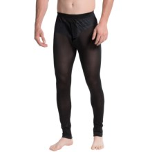 Terramar Sportsilks Base Layer Bottoms (For Men) in Black - Closeouts