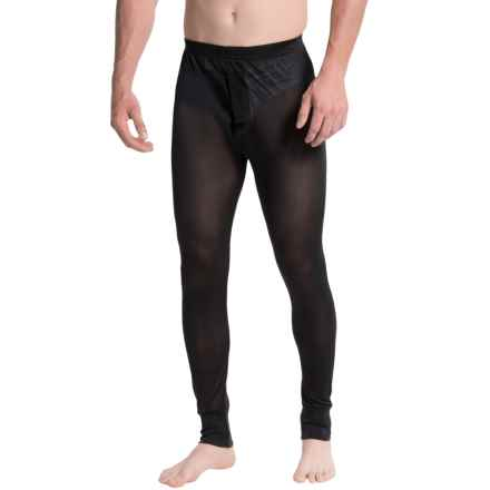 Terramar Sportsilks Base Layer Pants (For Men) in Black - Closeouts
