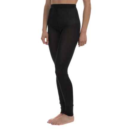 Terramar Sportsilks Base Layer Pants (For Women) in Black - Closeouts
