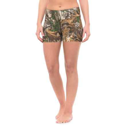 Terramar Stalker 2.0 Boy Shorts - UPF 25+ (For Women) in Realtree Xtra - Closeouts