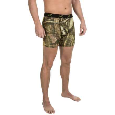 Terramar Stalker Camo Boxer Briefs - Underwear (For Men) in Mossy Oak Break-Up Infinity - Closeouts