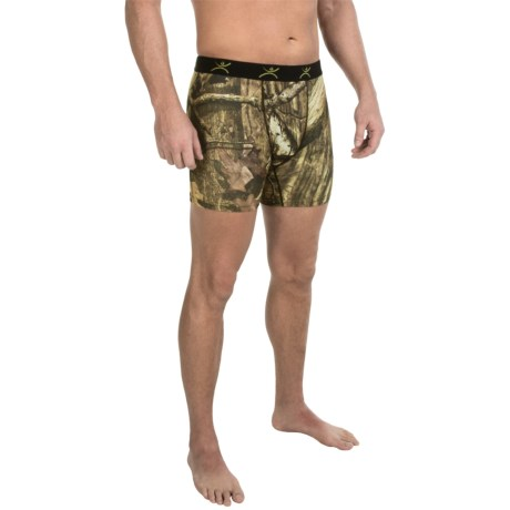 Terramar Stalker Camo Boxer Briefs - Underwear (For Men) in Mossy Oak Break-Up Infinity