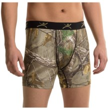Terramar Stalker Camo Boxer Briefs - Underwear (For Men) in Real Tree Xtra - Closeouts