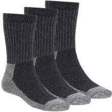 Terramar Steel Toe Work Socks - 3-Pack (For Men and Women) in Grey Heather - Closeouts