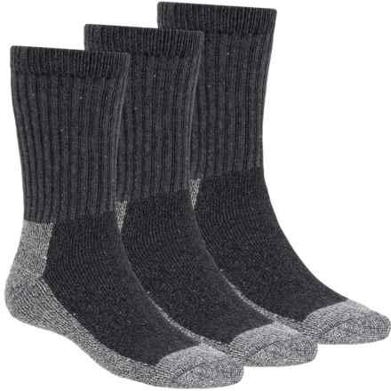 Terramar Steel Toe Work Socks - 3-Pack (For Men and Women) in Grey Heather - Closeouts