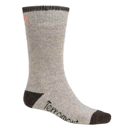 Terramar Sub-Zero Socks - 2-Pack, Mid Calf (For Men) in Grey Heather - Closeouts