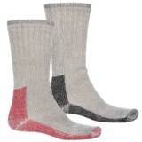 Terramar Thermal Work Outdoor Socks - Crew, 2-Pack (For Men)