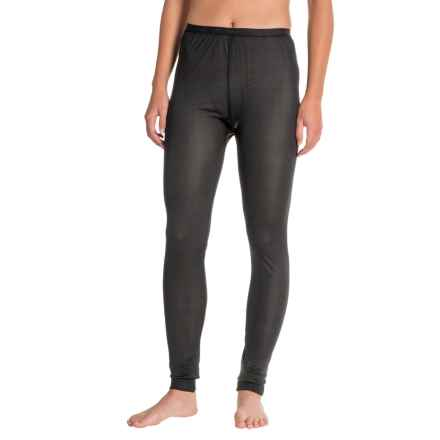 Terramar Thermasilk 1.0 Base Layer Bottoms (For Women) in Black - Closeouts