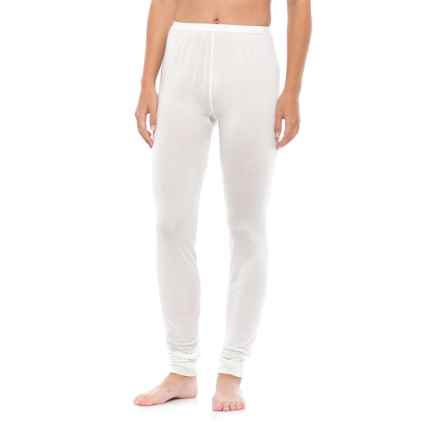 Terramar Thermasilk 1.0 Base Layer Bottoms (For Women) in Natural - Closeouts