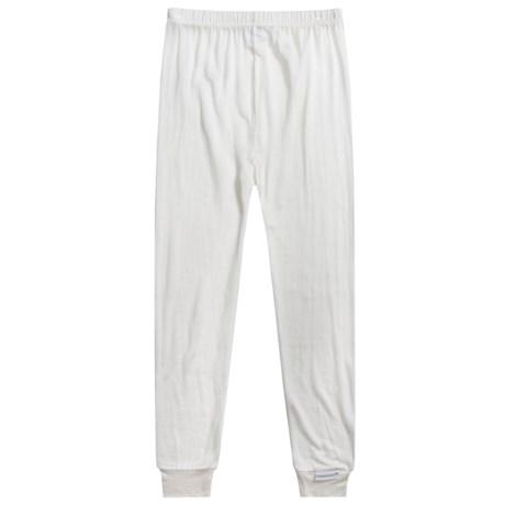 Terramar Thermasilk® Jersey Base Layer Pants - Silk (For Little and Big Kids)