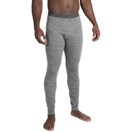 Terramar Thermawool ClimaSense® 4.0 Base Layer Pants - Merino Wool Blend, UPF 50+ (For Men) in Light Heather Grey