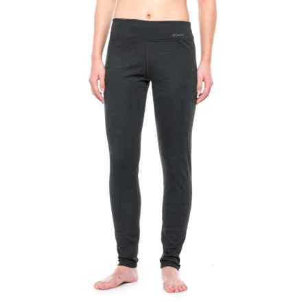 Terramar Thermawool ClimaSense® 4.0 Base Layer Pants - UPF 50+ (For Women) in Smoke Heather - Closeouts